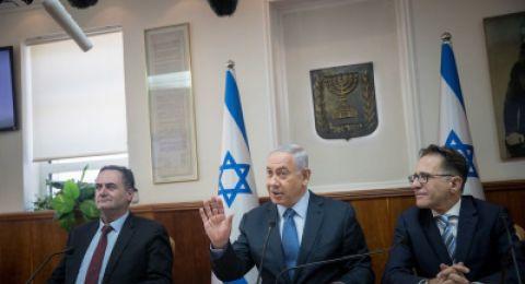 اجتماع للكابينت صباح اليوم لمناقشة التطورات في غزة