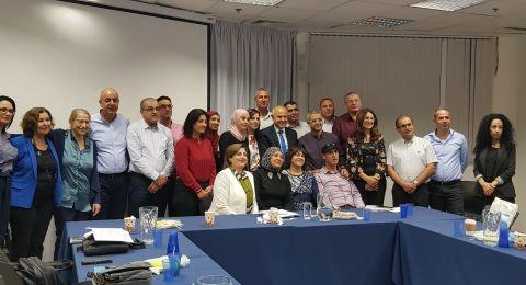 لقاء المدير العام للوزارة شموئيل أبواب مع مجموعة من المدراء الجدد