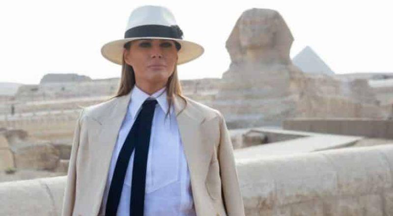 95 ألف دولار تكلفت 6 ساعات قضتها ميلانا ترامب في مصر
