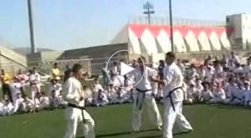 رابطة الكراتيه التقليدي تقيم معسكرا تدريبيا  في الدوحة