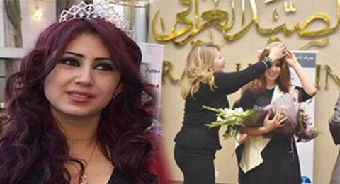 العراقيون يحتفلون باختيار ملكة جمال بغداد لعام 2014