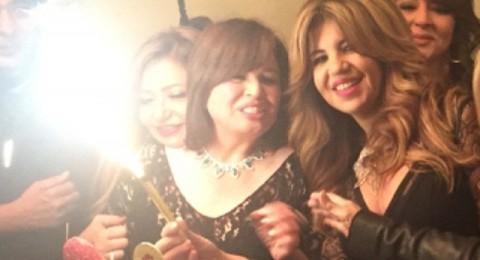 إلهام شاهين تحتفل بعيد ميلادها الـ53 بحضور عدد ضخم من النجوم