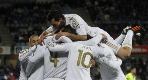 راموس يقود ريال مدريد لتحقيق فوز هام امام خيتافي