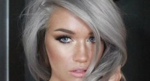 الشعر الفضي.. أحدث موضة لصبغات الشعر