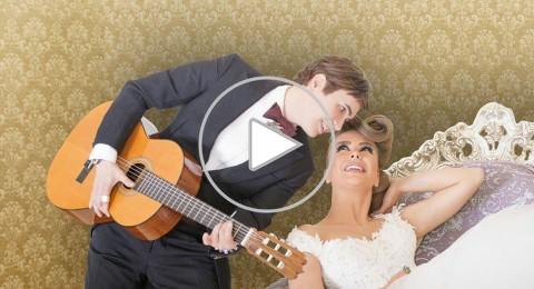 جو رعد يكشف حقيقة زواجه من الممثلة السورية ميرنا شلفون… فيديو
