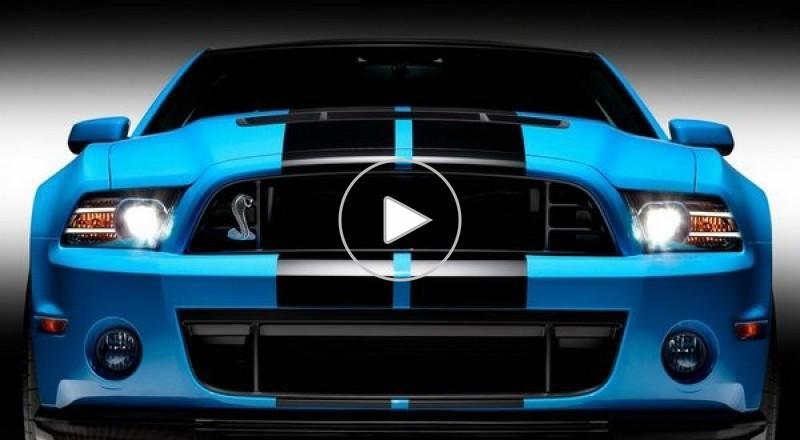 فورد GT-500 2013... أقوى سيارة في العالم؟!