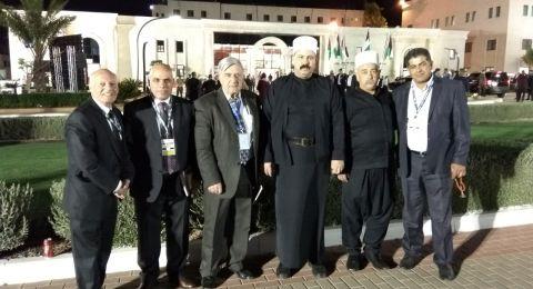 الحركة الوطنيّة للتواصل تشارك في افتتاح المجلس الوطنيّ الفلسطينيّ