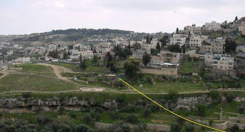 التماس لابطال مخطط لجسر معلق بالقرب من حي سلوان في القدس