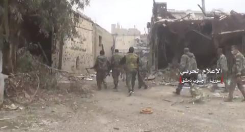 مخيم اليرموك: الجيش السوري ينتشر في المنطقة التي كانت تحت سيطرة النصرة
