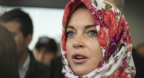 لیندسي لوھان: معجبة بالمرأة العربية