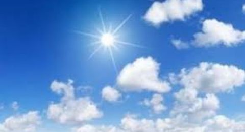 حالة الطقس: ارتفاع ملحوظ على درجات الحرارة اليوم والايام القادمة