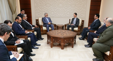 الأسد: مشروع الولايات المتحدة هزم في سوريا أمام صلابة محور المقاومة
