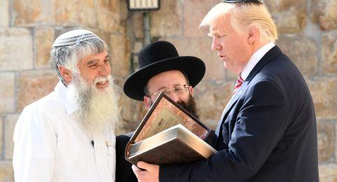 ترامب قد يزور القدس هذا الشهر