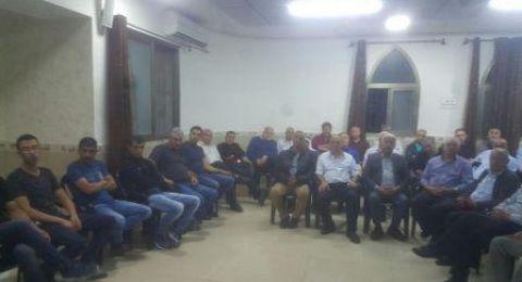 ام الفحم: اجتماع لنبذ العنف في حي عراق الشباب