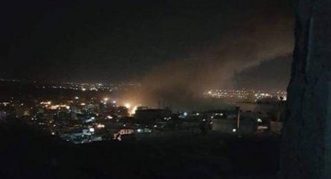 شهداء ومصابين بقصف أمريكي بريطاني على مواقع سورية
