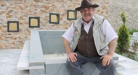 شاهد.. ممثل تركي ينفق ٣٥ الف ليرة تركية لتجهيز قبره