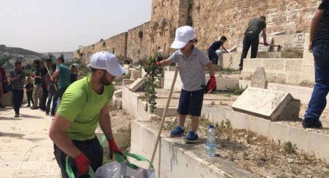 الحركة الاسلامية تشد رحالها لتنظيف الاقصى استقبالا لشهر رمضان