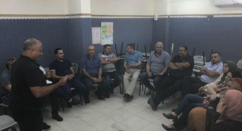 يوم دراسي لمركزي مكافحة الادمان في لواء حيفا
