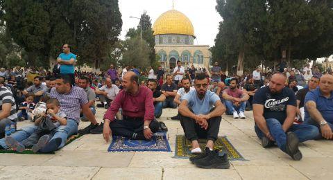 خطيب الاقصى: القدس يقرع فيها ناقوس الخطر