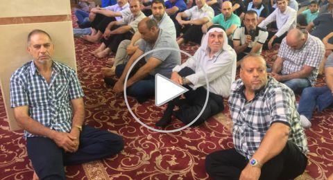 الشيخ موفق شاهين يافة الناصرة يتحدث عن وداع شعبان