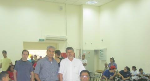 حورة: مسابقة بطولة النقب لذوي الاحتياجات الخاصة في المركز الجماهيري