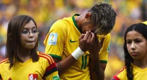 طبيب نفساني للاعبي البرازيل من اجل مساعدتهم على التوقف عن البكاء!