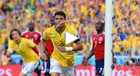 البرازيل الى المربع الذهبي … لتضرب لقاء ناري مع المانيا