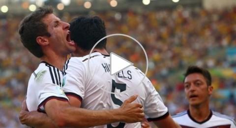المانيا الى دور نصف النهائي للمرة الرابعة على التوالي