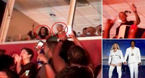 أوباما وزوجته يرقصان بحفل بيونسيه