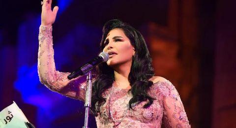 """أحلام تتوقف عن الغناء في مهرجان """"جرش"""".. ماذا قالت للجمهور؟"""