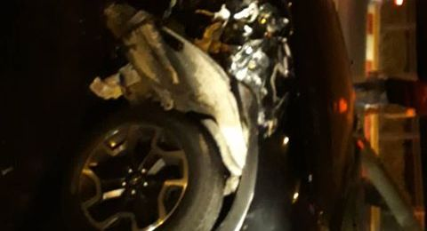 إصابة 3 أشخاص بحادث طرق على مدخل اكسال