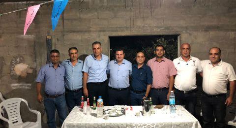 الجبهة تعتمد رسميا المحامي عبد السلام دراوشة مرشحا لرئاسة المجلس المحلي اكسال لدورة رابعة