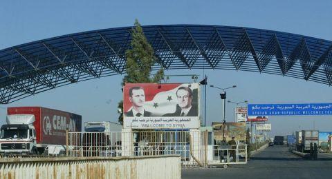 الأردن يستعد لفتح معبر نصيب مع سوريا