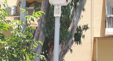 الانتهاء من تركيب نظام كاميرات مراقبة في حديقة شارع هحايل في بات جليم وعلى طول شارع بن يهودا في الهدار في حيفا