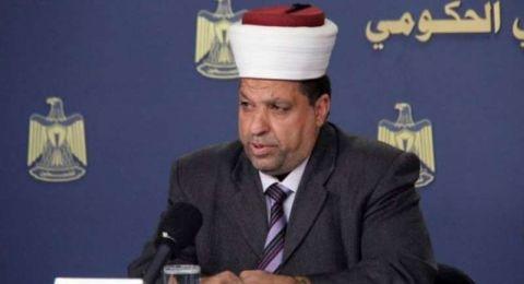 ادعيس يعلن موعد سفر حجاج الضفة وغزة