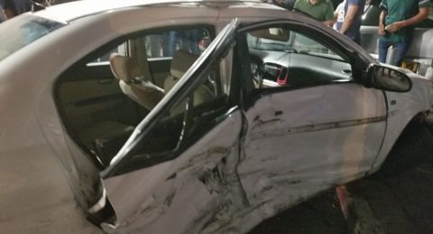 مصرع  فلسطينية واصابة 4 بحادث سير في رام الله