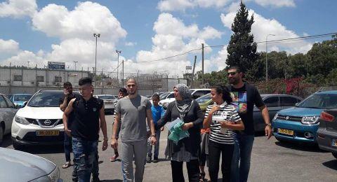 الإفراج عن الأسيرين معتصم محاميد وأحمد مرعي
