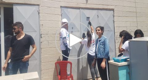 المُبادرة الفحماوية تنطلق بمشروعها الترميمي لحيّ الميدان