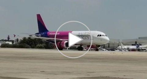 مطار اللد: هبوط اضطراري لطائرة تابعة لشركة