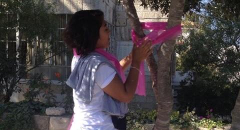 رام الله: إطلاق حملة توعية للكشف المبكر عن سرطان الثدي
