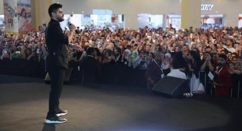 دبي: ناصيف زيتون يحطم الرقم القياسي في سوق التنين