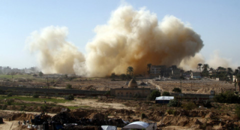 اسرائيل تعلن عن تفجير نفق عابر للسياج الفاصل شرق خانيونس