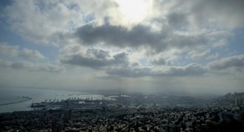 حيفا: الامطار تسبب فياضانات واغلاق عدد من الطرق