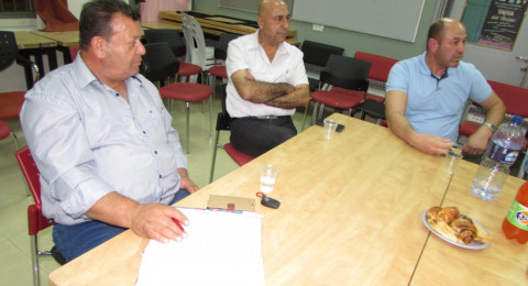 اجتماع تأسيس لتشكيل أول مجلس تربوي استشاري في يافة الناصرة