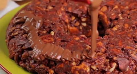 طريقة عمل ليزي كيك بالشوكولاته