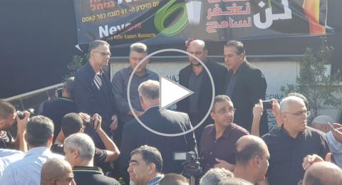 انطلاق فعاليات احياء الذكرى 61 لمجزرة كفر قاسم