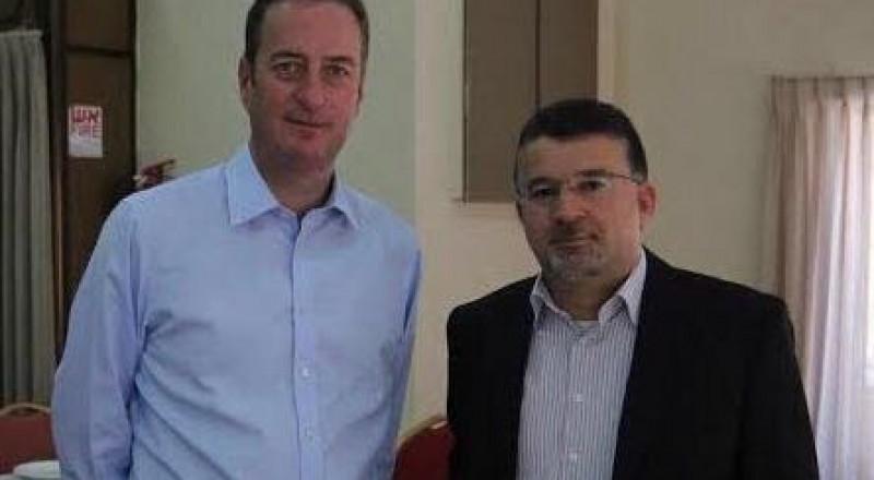 النائب جبارين يسلّم السفير البريطاني رسالة تدعو بريطانيا للاعتراف بفلسطين وبالظلم التاريخي