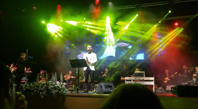 جمعية انغام والفرقة الماسية في امسية تكريمية يوم أمس للراحل ملحم بركات