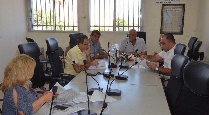 جديدة المكر المصادقة على ميزانية المجلس المحلي لعام 2017 قرابة 100 مليون شيكل