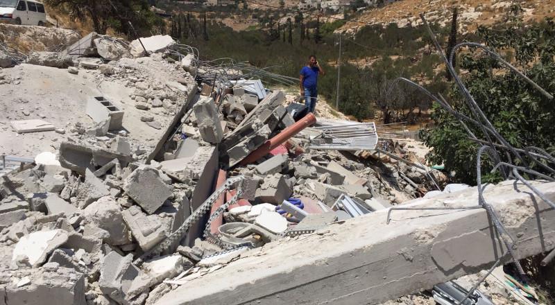 القدس: توزيع 6 اوامر هدم لمنازل في سلوان